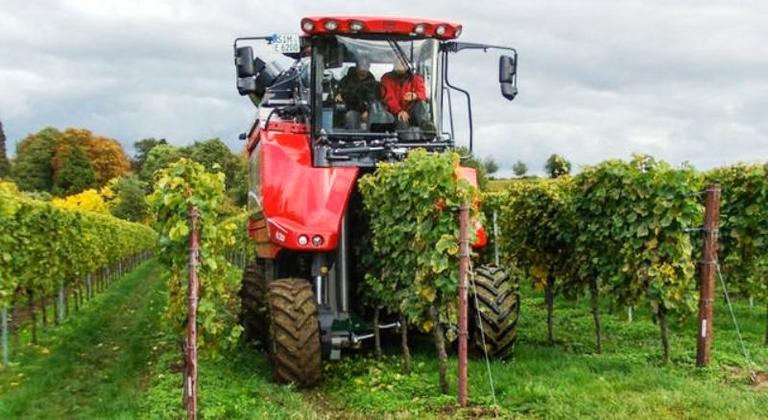 Stroji za obiranje grozdja