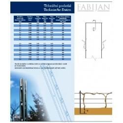 FABIJAN steber F60 2,7m / 1,5mm Magnelis®
