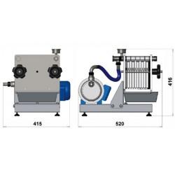 TEM filter MINIJOLLY 20x20- 10 plošč s črpalko, 220 V