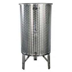 INOX sod za vino 300 L (2 pipici)