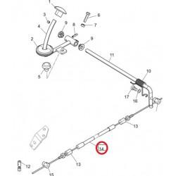 Bovden nožnega plina VPD 45/4600 (poz.14)