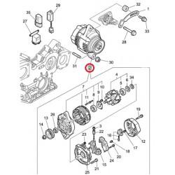 Alternator za VPD 2730/45/46/64/6500 (poz.2)